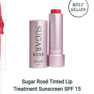 Fresh Sugar Rosé Tinted Lip Treatment Sunscreen